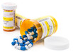 Prescription medication in pharmacy vials - 78077186