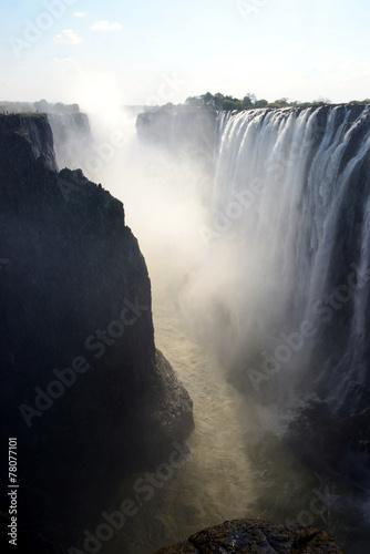 Victoria Falls, Zambia - 78077101