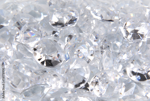 close up of the diamonds - 78078990