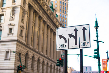 Pointers on the road to streets in New York City