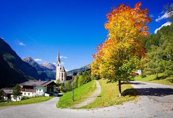 Nice  old Church in Cortina, Italy