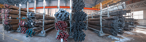 warehouse tubing. Oil and gas industry - 78080531