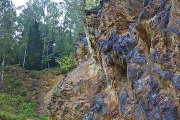 Rocks in Rudawy Janowickie, Poland