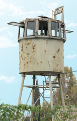 military watchtower