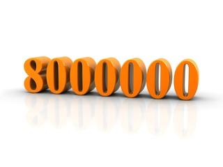 number 8000000