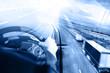 Camiones y transporte. Carreteras y mercancía entrega. almacén - 78085355