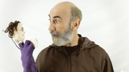 Friar puppet toys playful