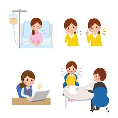 女性 病気 保険
