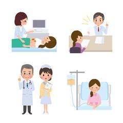 女性 健康診断 入院 病院