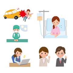 事故 手術 入院 保険