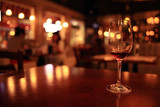 glass with red wine, tasting, restaurant - 78087979