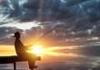 Evening fishing - 78088319