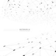 Vector network background abstract polygon triangle.