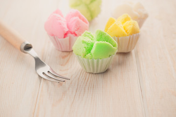 Delicious Thai sweet dessert