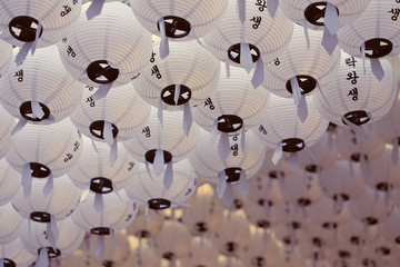 paper lanterns - sweet film look effect picture