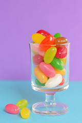Jelly beans sugar candy