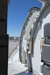 airplane open door