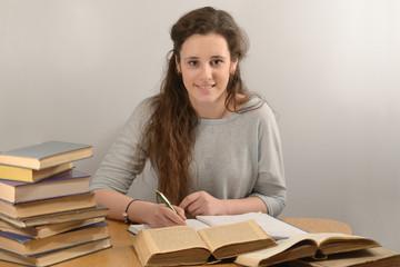 A student study history