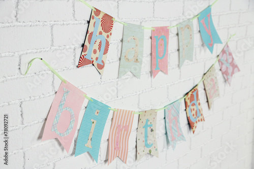 canvas print picture Beautiful decoration for birthday party