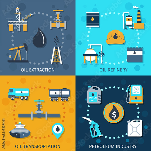 Oil Industry Set - 78094144