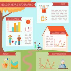 Senior Lifestyle Infographics