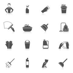 Cleaning Icon Set