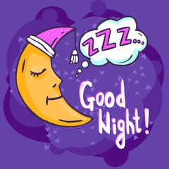 Sleep Time Illustration
