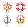 Marine Symbols Set - 78094929