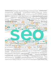 SEO Word with Tag Cloud and Graphs