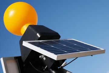 Close up Modern Solar Panel Technology