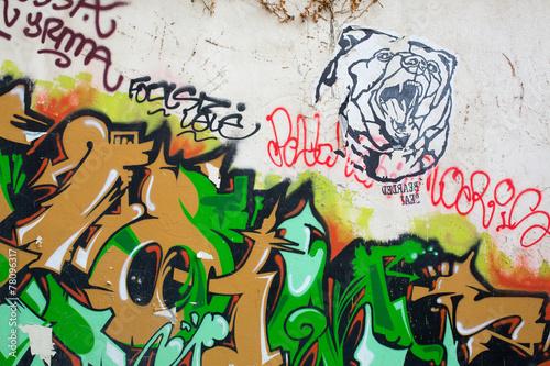 graffiti peinture décoration Poster
