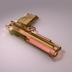 Plastic gun pink
