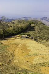 Hilly landscape at Nan