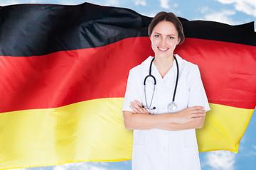 German Female Doctor