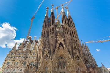 Construction of Sagrada Familia #2