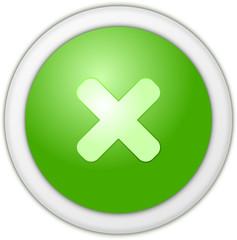 Refuse button green