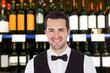 Smiling Male Bartender