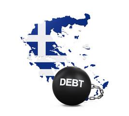Greece Economic Crisis Illustration