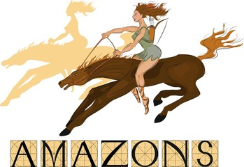 Amazons with title