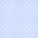 Fototapety Tile vector pattern white polka dots on pastel blue background