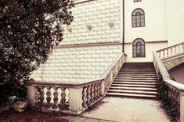 Castle in Krasiczyn, Poland