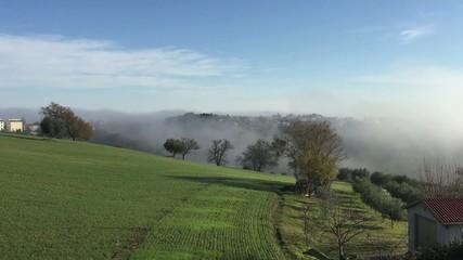 Panoramica in campagna