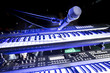 Close-Up of microphone and keyboard on stage - 78102966