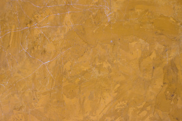 Yellow rough wall