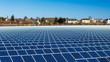 canvas print picture - Solarkraftwerk