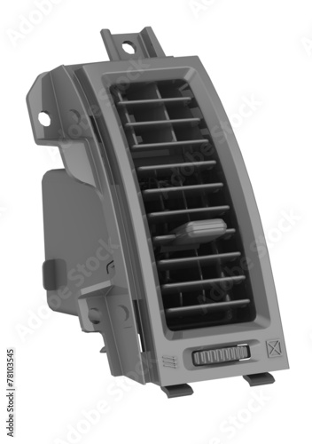 canvas print picture Дефлектор системы охлаждения салона автомобиля