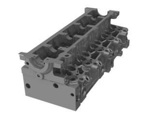 Головка блока цилиндров двигателя внутреннего сгорания