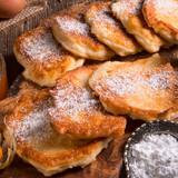 racuchy - Polish yeast pancakes