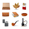 Tobacco Icon Set - 78104984