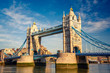 canvas print picture - Tower bridge in London